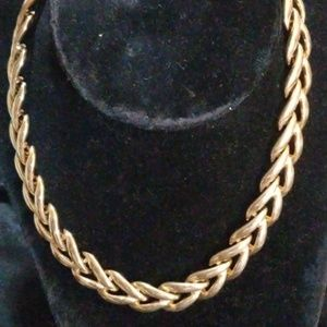 Napier Large Link Chain Necklace. Beautiful